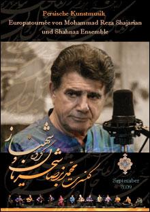 Mohammad Reza Shajarian & Shahnaz Ensemble Concert Poster